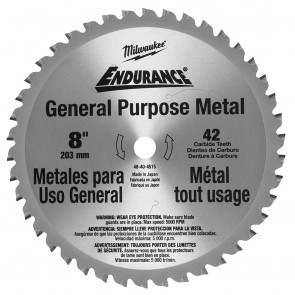 Milwaukee 8 in. Circular Saw Blade (42T)