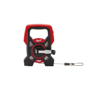 Milwaukee 100 ft. Open Reel Long Tape Measure