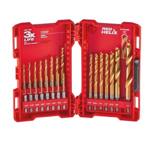 Milwaukee 23-Piece Titanium SHOCKWAVE Bit Set
