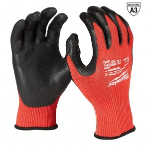 Milwaukee Cut Level 3 Dipped Gloves (L)