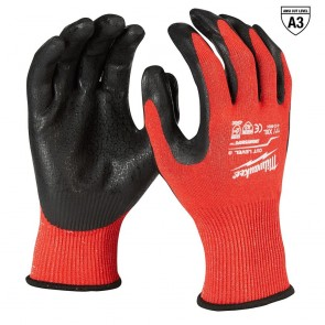 Milwaukee Cut Level 3 Dipped Gloves (2X)