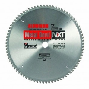 "12"" Carbide, 80T Metal Cutting Circular Saw Blade"