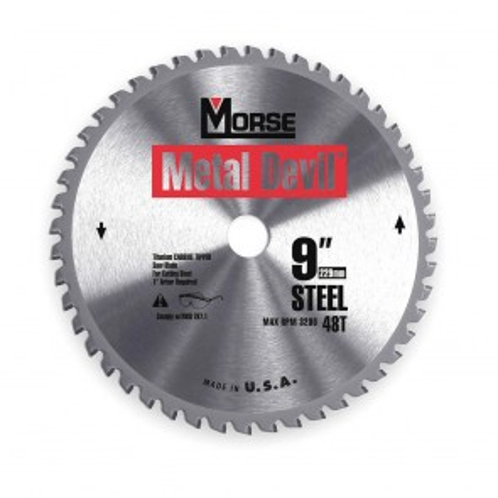 "9"" Metal Devil Circular Saw Blade, 56T"