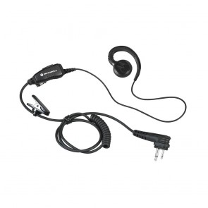 Motorola Lightweight Swivel Earpiece with In-line Clip PTT Mic