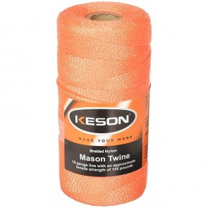 Keson 1000 ft Orange Braided Mason Twine