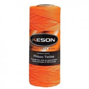 Keson 250 ft Orange Braided Mason Twine