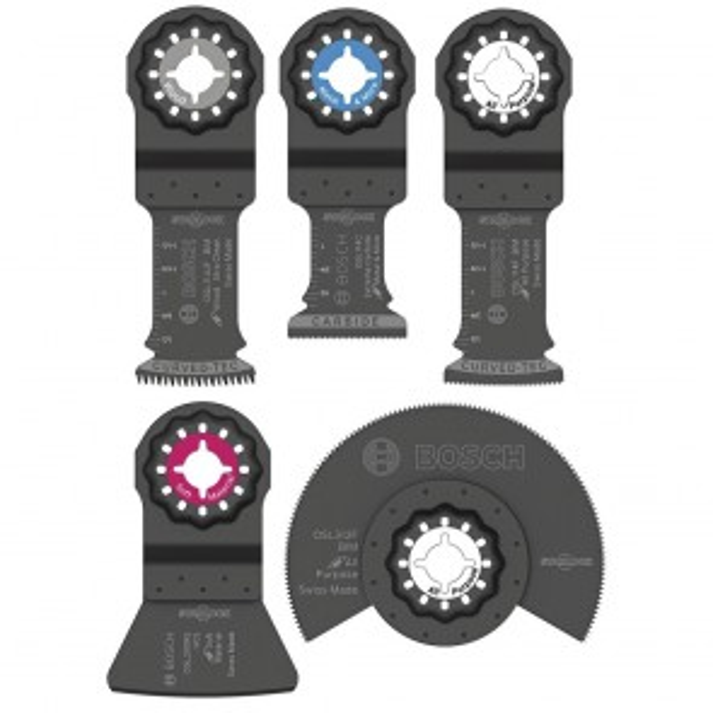 Bosch 5-Piece Starlock Oscillating Multi-Tool Accessory Blade Set