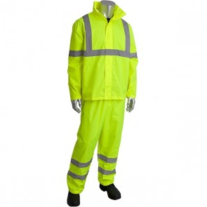 PIP Viz™ ANSI Type R Class 3 Two-Piece Value Rainsuit Set