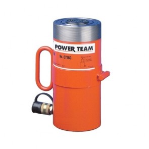 "Power Team 100 Ton Cylinder, Capacity 6-5/8"" Stroke"