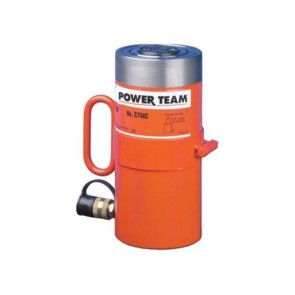 "Power Team 25 Ton Cylinder, Single Acting, 2"" Stroke"