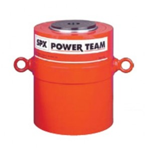 "Power Team 200 Ton Cylinder, Double Acting, 10"" Stroke"