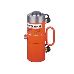 "Power Team 100 Ton Hydraulic 13-1/8"" Double Acting Cylinder"