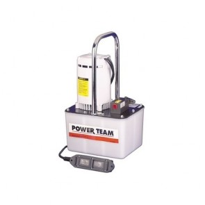 Power Team Electric Portable Pumps for Single Acting Cylinders, 2-Speed
