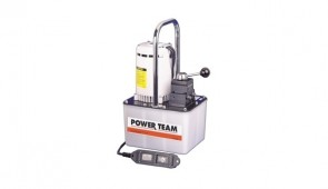 Power Team Electric Portable Pumps for Single/Double Acting Cylinders, 2-Speed