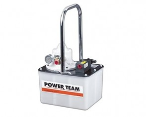Power Team Air Driven Hydraulic 17 Cu In, 2 Gallon Reservoir