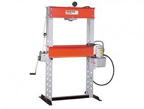 "Power Team H Frame Shop Press, 25 Ton 6-1/4"" Stroke"