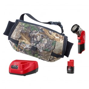 Milwaukee M12™ 12-Volt Lithium Ion Cordless Heated Hand Warmer with LED Work Light Kit, Camo