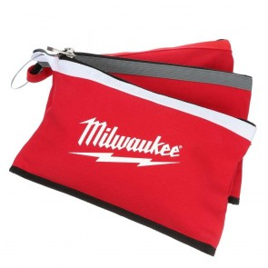 Milwaukee Zipper Pouch (Assorted Colors) 3-Pack