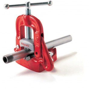 Ridgid Bench Yoke Vise, 1/8 to 2 In.