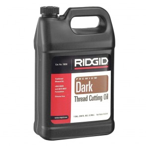 Ridgid Dark Thread Cutting Oil, 1 Gal of Dark Pipe Threading Oil