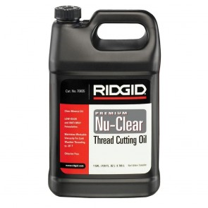 Ridgid Thread Cutting Oil, 1 Gal Of NU-CLEAR Pipe Threading Oil