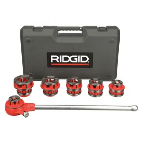 "Ridgid 12-R 1/2""""-2"""" NPT Exposed Ratche Threader Set"