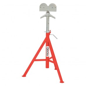 "Ridgid RJ98 Roller Head Low Pipe Stand 23""-41"" Height Adjustment"