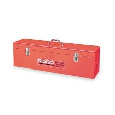 Ridgid Tool Box for 915 Groover