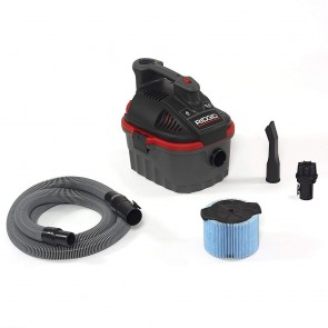 Ridgid 4 Gallon Wet/ Dry Vacuum Red