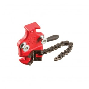 "Ridgid Top Screw Bench Chain Vise For Plastic, 1/8"" - 4 1/2"""
