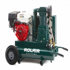 RolAir 9 HP Gas-Powered Belt Drive Air Compressor