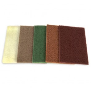 """6"""" x 9"""" Industrial Scouring A/O Scratch Pad Green"""