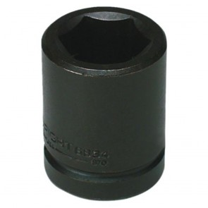 "1-1/2"" - 3/4"" Drive 6 Point Standard Impact Socket (Shape 3)"