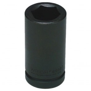 "1-1/8"" - 3/4"" Drive 6 Point Deep Impact Socket (Shape 2)"