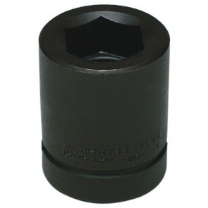 "60mm - 1"" Drive 6 Point Standard Metric Impact Socket (Shape 3)"