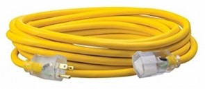 Southwire 25' Polar/Solar Outdoor Extension Cord with Lighted End (12/3 Gauge)
