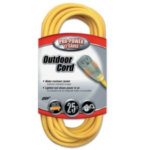 Southwire 12/3 25' SJTW Extension Cord