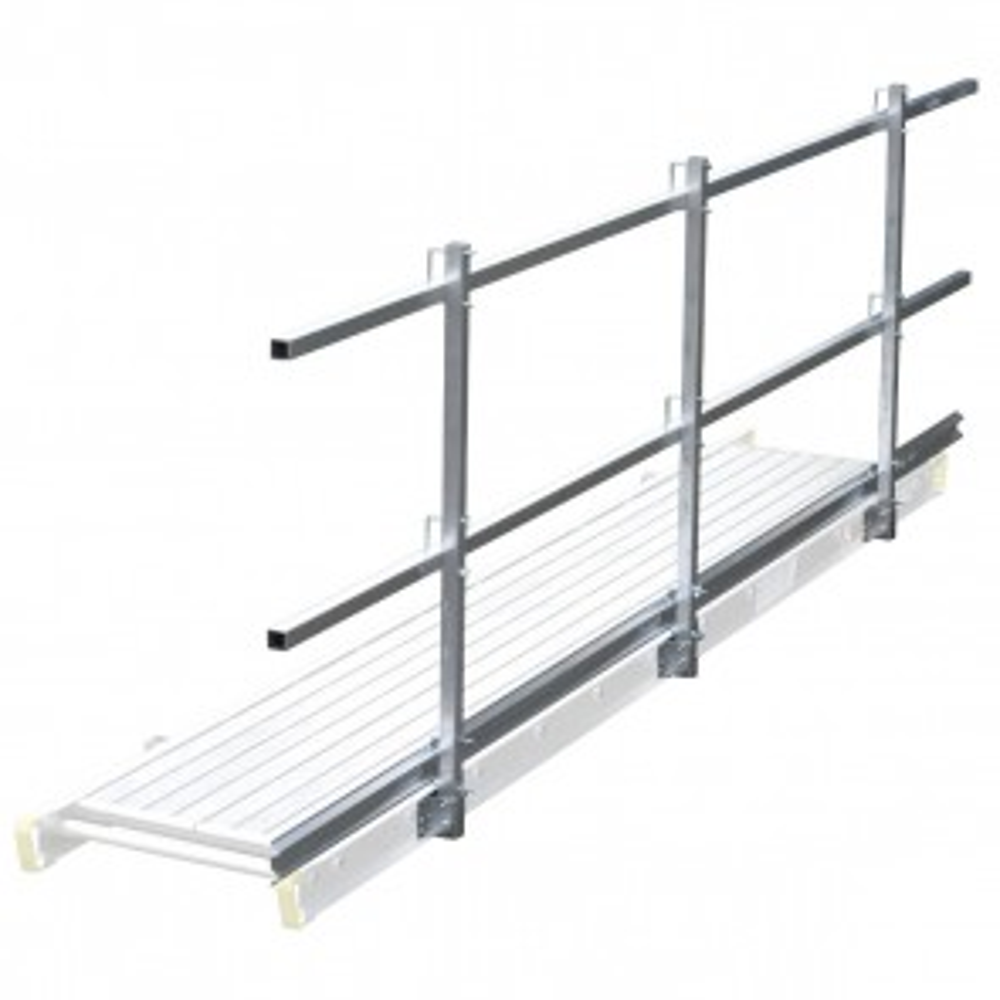 Werner 1 Guardrail 156in x 1.2in Square Cut Length