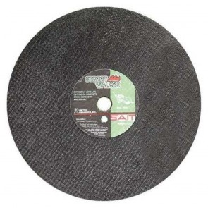 "United Abrasives 14"" X 13/16"" X 1"" Street Walker Silicon Carbide Cutting Wheel"