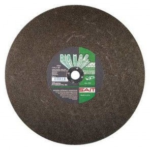"United Abrasives 12"" X 1/8"" X 1"" Big M.A.C.™ Silicon Carbide Type 1 Cut Off Wheel"