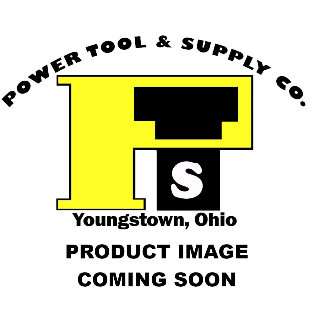 "United Abrasives/SAIT 7"" X 1/4"" X 7/8"" A24N 24 Grit Aluminum Oxide Type 27 Grinding Wheel"