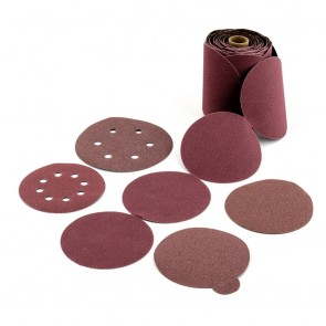United Abrasives/SAIT 6 in Aluminum Oxide, 120 Grit PSA Coated Finishing Disc