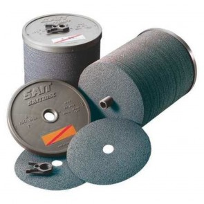 "United Abrasives 4 1/2"" X 7/8"" 50X Grit Z Blue Line™ Zirconium Closed Coat Resin Bond Fiber Disc"
