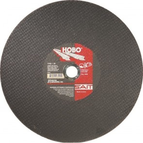 "United Abrasives/SAIT 14"" X 1/8"" X 1"" HOBO® Proprietary Blend Type 1 Cut Off Wheel"