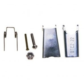 "Universal Replacement Latch Kit, For Hook Sizes 2-22 (1/4"")"