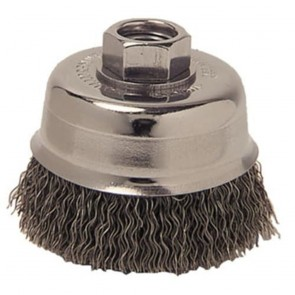 "Weiler 3"" Crimped Wire Cup Brush"