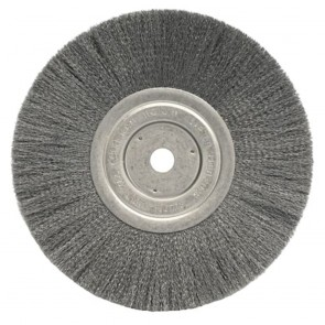 """Weiler 10"""" Narrow Face Crimped Wire Wheel"""