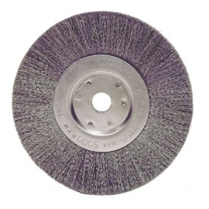 """Weiler 6"""" Narrow Face Crimped Wire Wheel"""