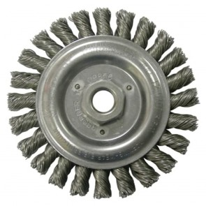 "Weiler 6"" Roughneck Stringer Bead Wheel"