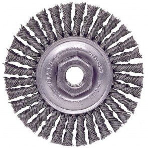 "Weiler Roughneck 4"" Stringer Bead Wheel"